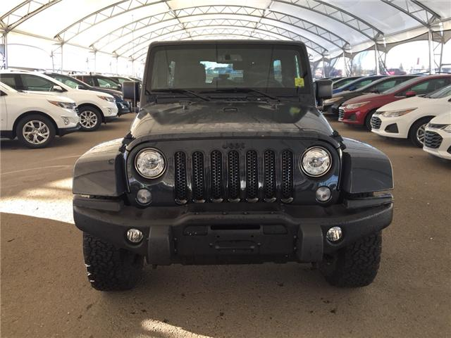 2017 Jeep Wrangler Unlimited Sahara (Stk: 169464) in AIRDRIE - Image 2 of 17