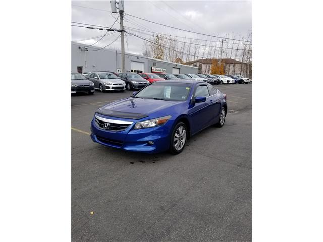 2011 Honda Accord EX-L Coupe AT (Stk: p18-222) in Dartmouth - Image 1 of 11