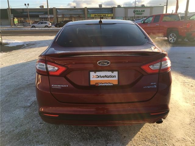2016 Ford Fusion Hybrid SE (Stk: A2531) in Saskatoon - Image 5 of 19