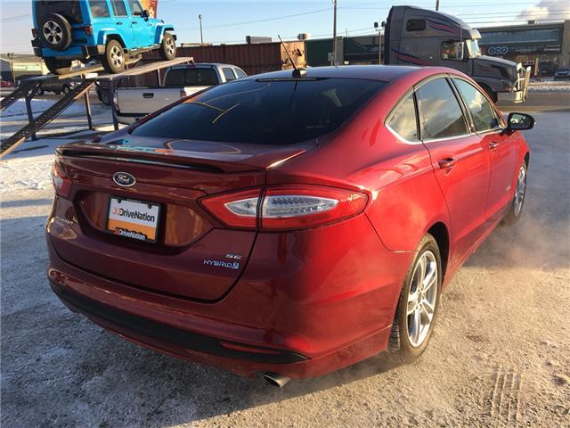 2016 Ford Fusion Hybrid SE (Stk: A2531) in Saskatoon - Image 6 of 19