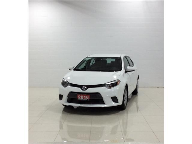 2016 Toyota Corolla LE (Stk: P5059) in Sault Ste. Marie - Image 1 of 14