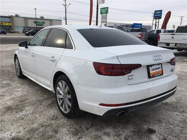 2018 Audi A4 2.0T Komfort (Stk: A2512) in Saskatoon - Image 4 of 18