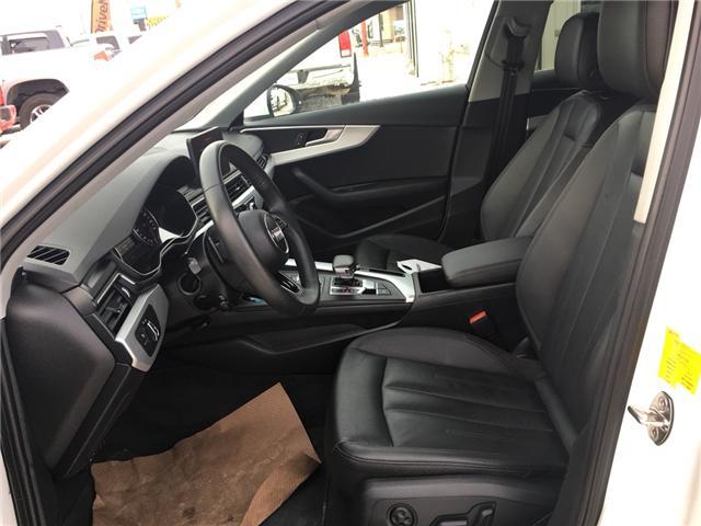 2018 Audi A4 2.0T Komfort (Stk: A2512) in Saskatoon - Image 10 of 18