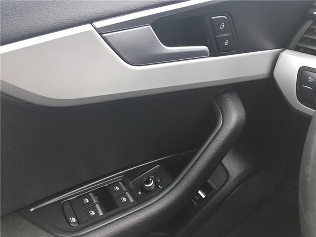 2018 Audi A4 2.0T Komfort (Stk: A2512) in Saskatoon - Image 11 of 18