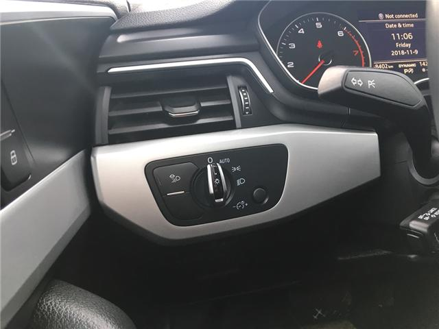 2018 Audi A4 2.0T Komfort (Stk: A2512) in Saskatoon - Image 12 of 18