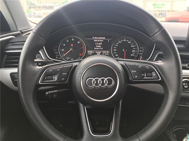 2018 Audi A4 2.0T Komfort (Stk: A2512) in Saskatoon - Image 13 of 18