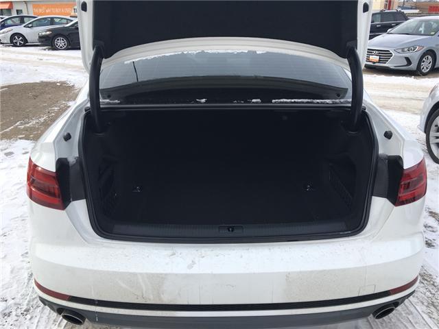 2018 Audi A4 2.0T Komfort (Stk: A2512) in Saskatoon - Image 18 of 18