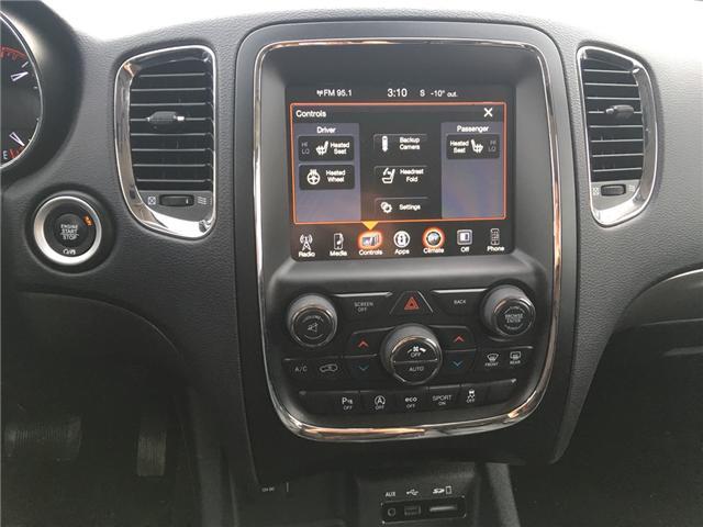 2017 Dodge Durango GT (Stk: A2519) in Saskatoon - Image 11 of 17