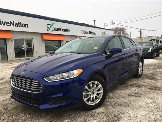 2016 Ford Fusion S (Stk: A2525) in Saskatoon - Image 1 of 16