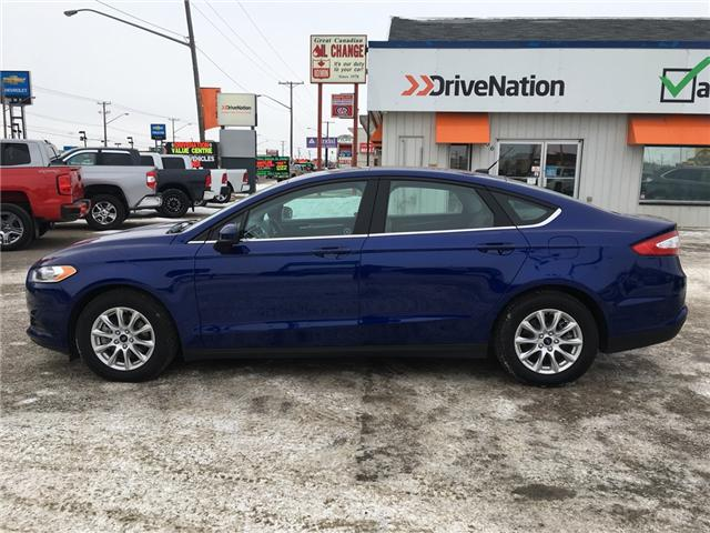 2016 Ford Fusion S (Stk: A2525) in Saskatoon - Image 3 of 16