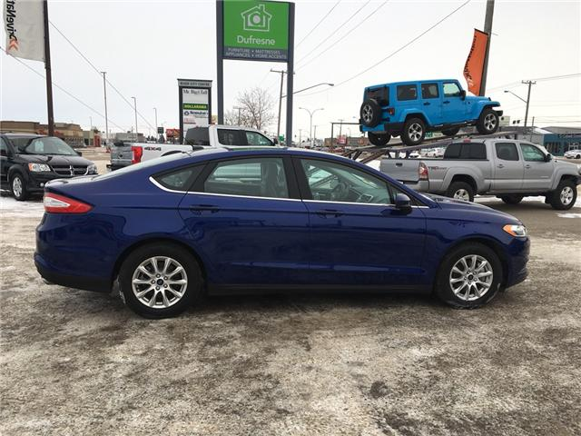 2016 Ford Fusion S (Stk: A2525) in Saskatoon - Image 7 of 16