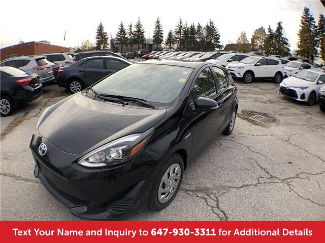 2018 Toyota Prius C Base (Stk: J41426) in Mississauga - Image 1 of 19