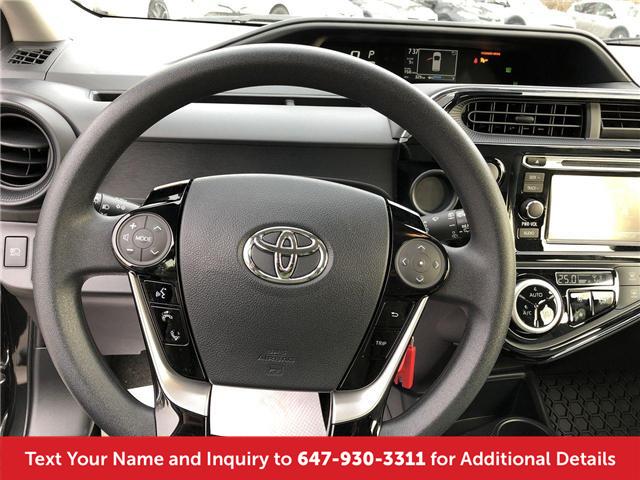 2018 Toyota Prius C Base (Stk: J41426) in Mississauga - Image 15 of 19