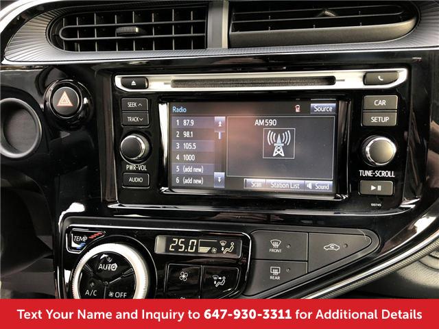 2018 Toyota Prius C Base (Stk: J41426) in Mississauga - Image 17 of 19