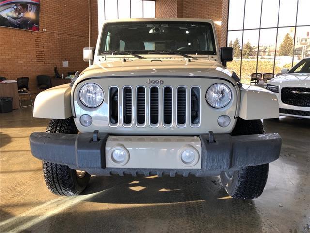 2017 Jeep Wrangler Unlimited Sahara (Stk: P0177) in Calgary - Image 2 of 12
