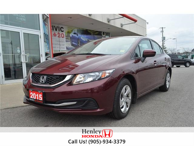 2015 Honda Civic Lx Bluetooth Heated Seats At 14900 For Sale In St
