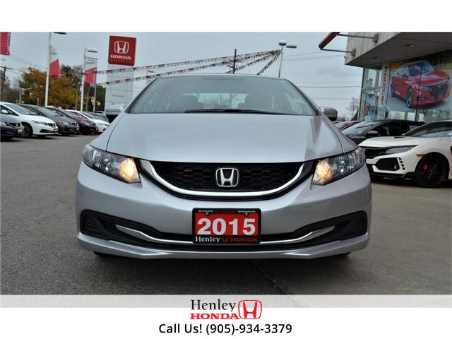 2015 Honda Civic EX SUNROOF ALLOY WHEELS (Stk: B0790) in St. Catharines - Image 4 of 26