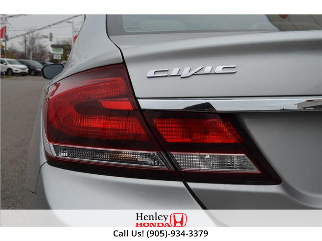 2015 Honda Civic EX SUNROOF ALLOY WHEELS (Stk: B0790) in St. Catharines - Image 7 of 26