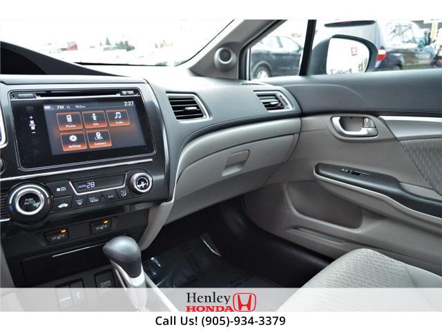 2015 Honda Civic EX SUNROOF ALLOY WHEELS (Stk: B0790) in St. Catharines - Image 10 of 26
