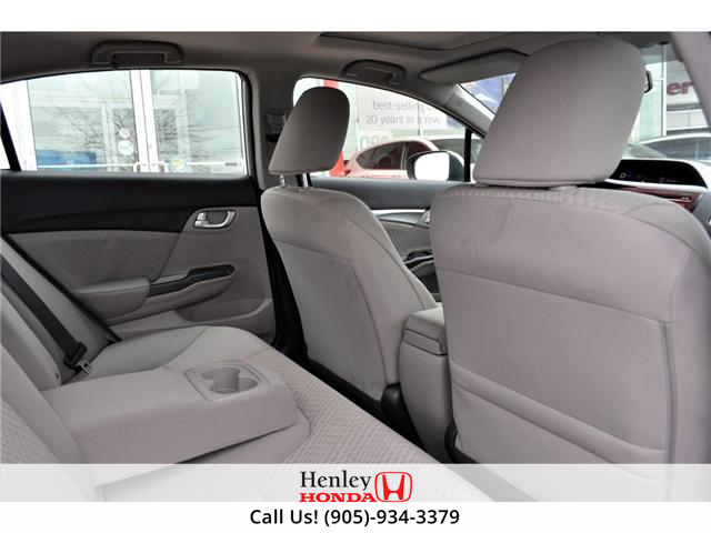 2015 Honda Civic EX SUNROOF ALLOY WHEELS (Stk: B0790) in St. Catharines - Image 11 of 26