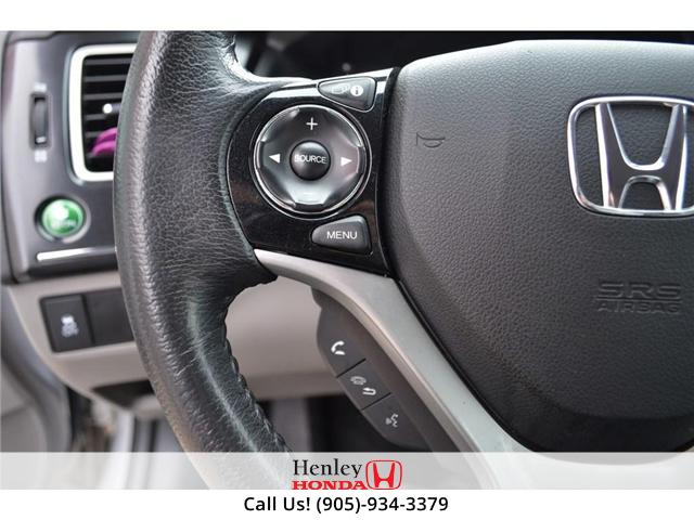 2015 Honda Civic EX SUNROOF ALLOY WHEELS (Stk: B0790) in St. Catharines - Image 16 of 26