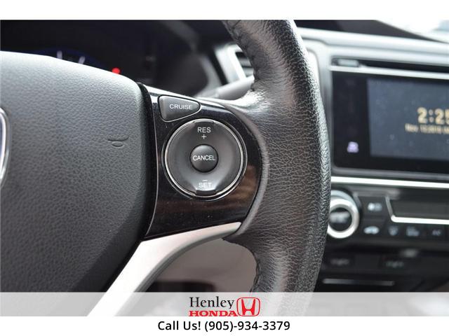 2015 Honda Civic EX SUNROOF ALLOY WHEELS (Stk: B0790) in St. Catharines - Image 17 of 26