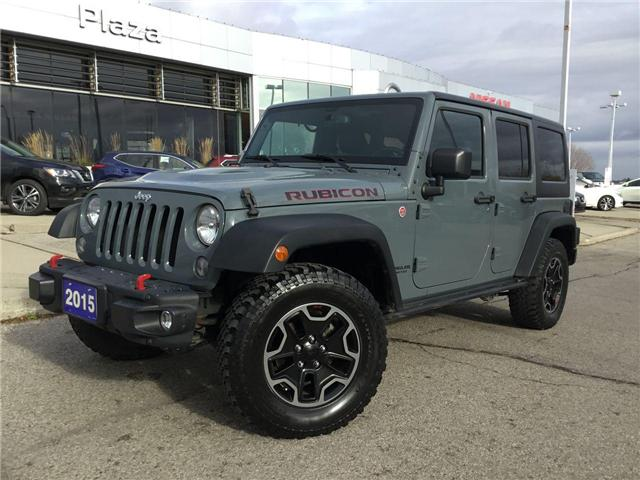 2015 Jeep Wrangler Unlimited Rubicon (Stk: T7331A) in Hamilton - Image 1 of 25