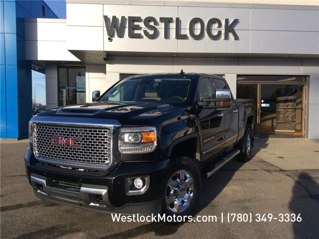 2017 GMC Sierra 3500HD Denali (Stk: 19T56A) in Westlock - Image 1 of 30