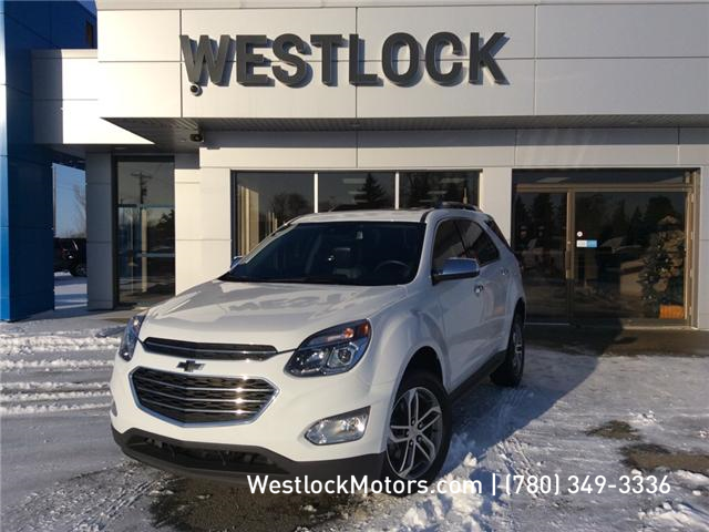 2017 Chevrolet Equinox Premier (Stk: 19T49A) in Westlock - Image 1 of 27