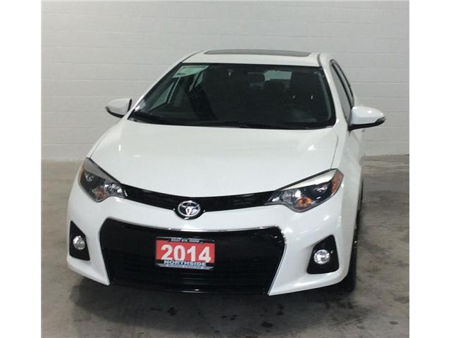 2014 Toyota Corolla S (Stk: P4954) in Sault Ste. Marie - Image 1 of 10