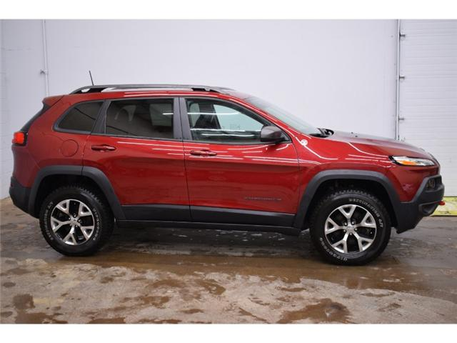 2017 Jeep Cherokee TRAILHAWK 4X4- BACKUP CAM * LEATHER * HEATED SEATS (Stk: B2847) in Kingston - Image 1 of 30