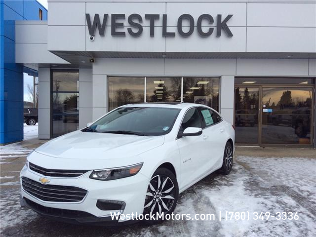 2018 Chevrolet Malibu LT (Stk: 18C22) in Westlock - Image 1 of 21