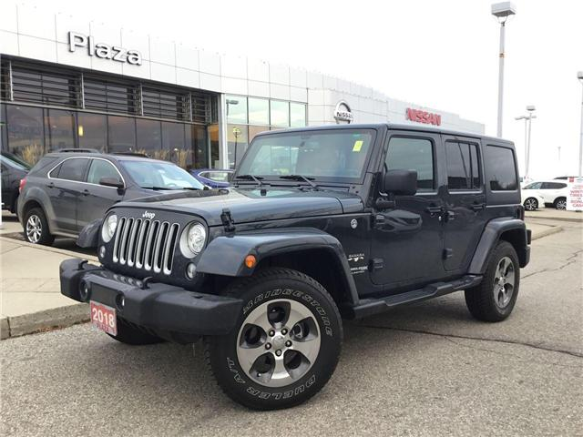 2018 Jeep Wrangler JK Unlimited Sahara (Stk: U1324) in Hamilton - Image 1 of 28