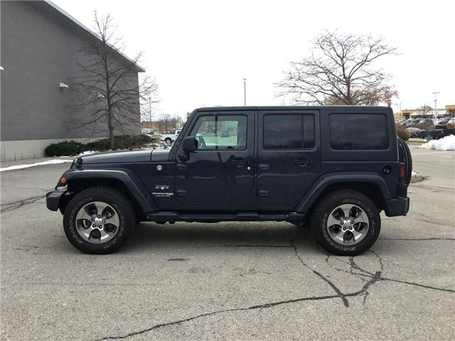 2018 Jeep Wrangler JK Unlimited Sahara (Stk: U1324) in Hamilton - Image 18 of 28