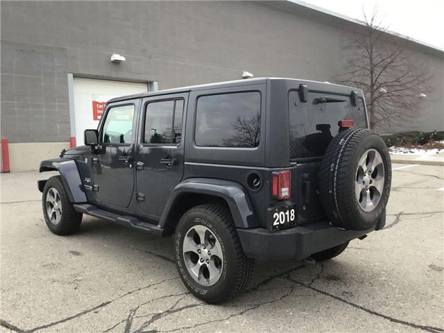 2018 Jeep Wrangler JK Unlimited Sahara (Stk: U1324) in Hamilton - Image 19 of 28
