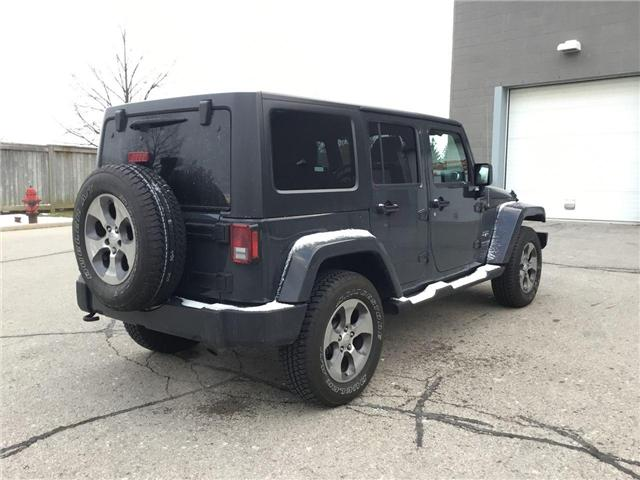 2018 Jeep Wrangler JK Unlimited Sahara (Stk: U1324) in Hamilton - Image 21 of 28