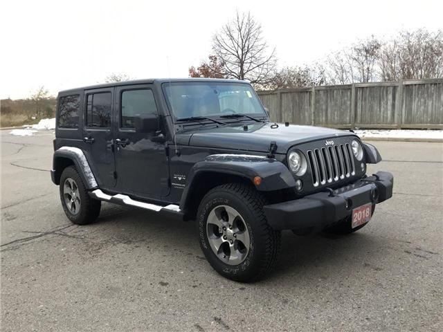 2018 Jeep Wrangler JK Unlimited Sahara (Stk: U1324) in Hamilton - Image 23 of 28