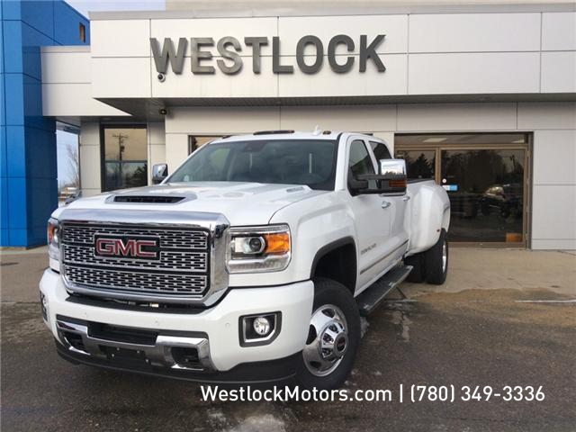 2019 GMC Sierra 3500HD Denali (Stk: 19T34) in Westlock - Image 1 of 26