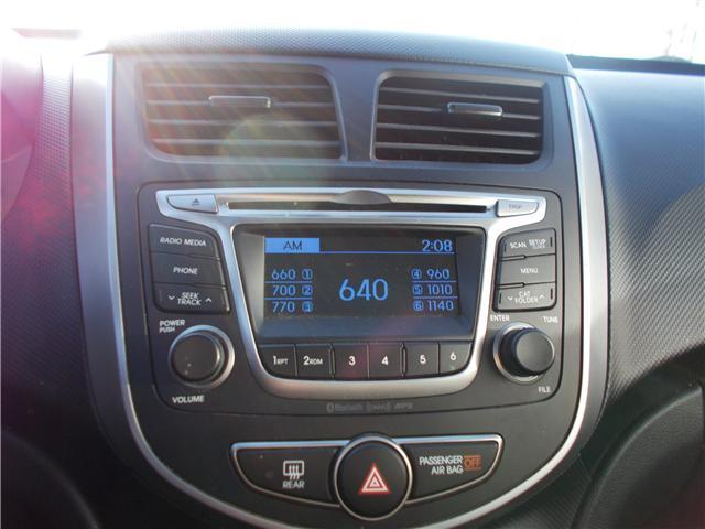 2017 Hyundai Accent GL (Stk: B1831) in Prince Albert - Image 13 of 19