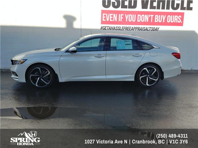2019 Honda Accord Sport 2.0T (Stk: H00269) in North Cranbrook - Image 2 of 8