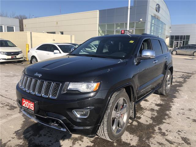 2015 Jeep Grand Cherokee Overland (Stk: 7180052) in London - Image 1 of 24
