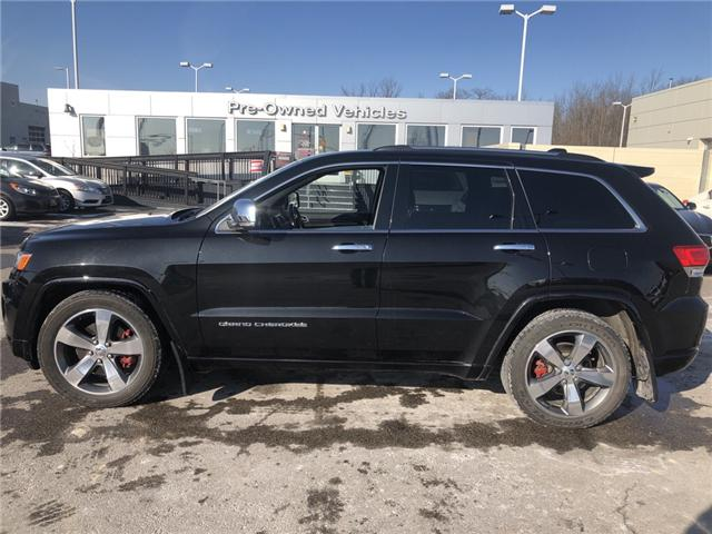 2015 Jeep Grand Cherokee Overland (Stk: 7180052) in London - Image 2 of 24