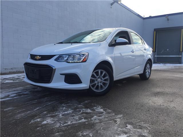 2017 Chevrolet Sonic LT Auto (Stk: D1161) in Regina - Image 1 of 21