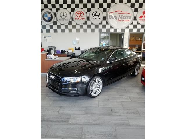 2015 Audi A5 2.0T Prestige quattro 8A (Stk: p17-162a) in Dartmouth - Image 1 of 8