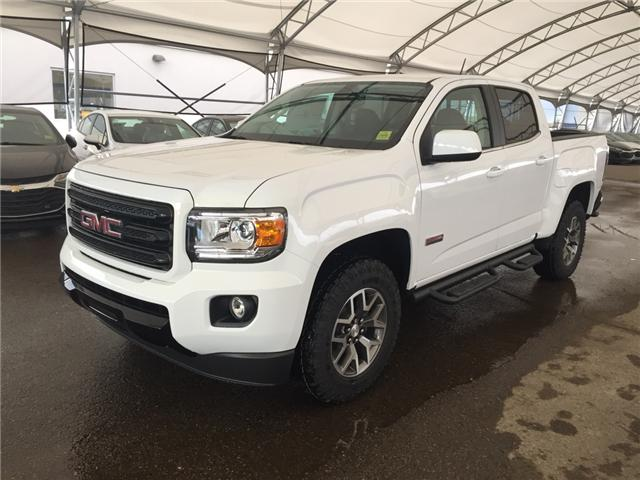 2019 gmc canyon slt all-terrain pkg  bed liner  htd seats for sale in airdrie