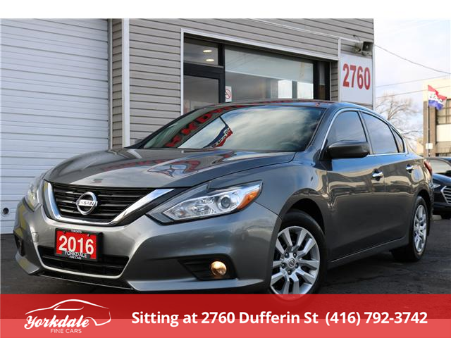 2016 Nissan Altima 2.5 (Stk: ) in North York - Image 1 of 19