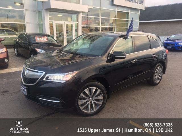 2016 Acura MDX Navigation Package (Stk: 1612650) in Hamilton - Image 1 of 26