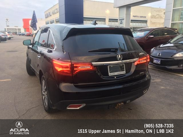 2016 Acura MDX Navigation Package (Stk: 1612650) in Hamilton - Image 4 of 26