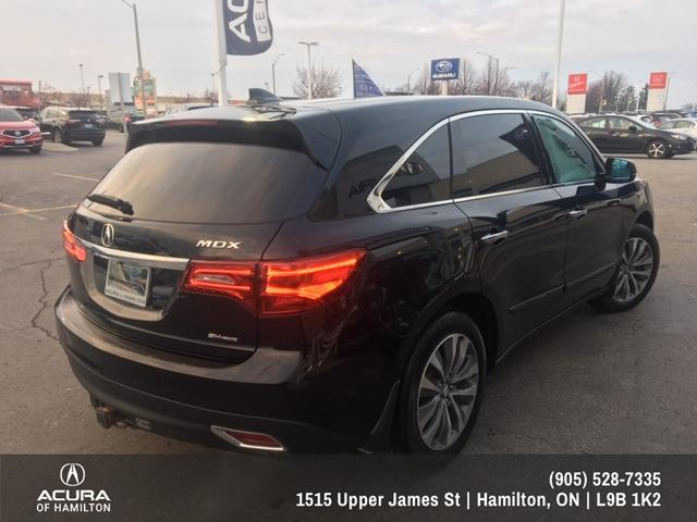 2016 Acura MDX Navigation Package (Stk: 1612650) in Hamilton - Image 5 of 26