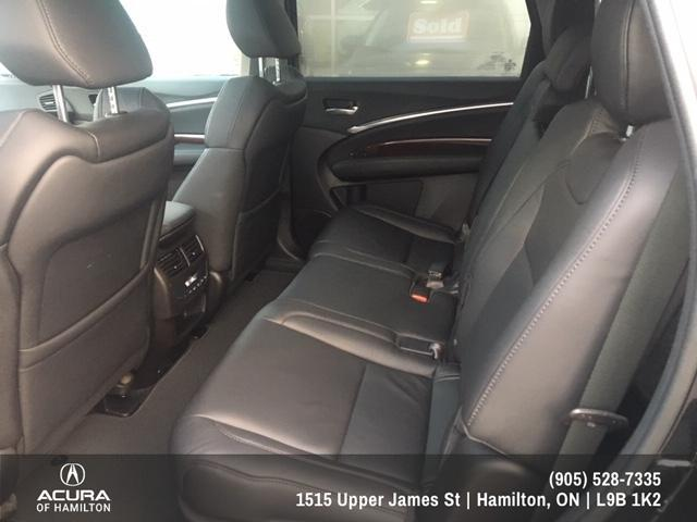 2016 Acura MDX Navigation Package (Stk: 1612650) in Hamilton - Image 10 of 26